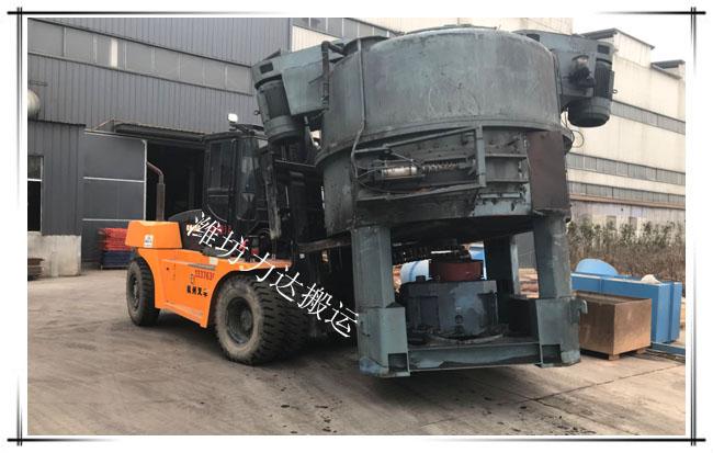 潍坊叉车出租租赁-重型设备搬运